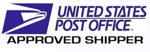 USPS Approved Shipper UNited States Postal Service
